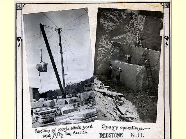 Redstone Granite Quarries Conway Nh A History Of The